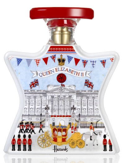 bond no. 9, harrods, london, queen, jubilee, perfume, fragrance, scent