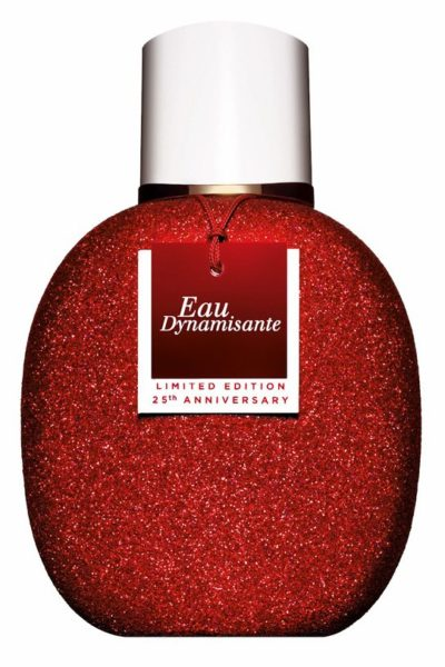 Clarins Eau Dynamisante dresses up for its 25th birthday!