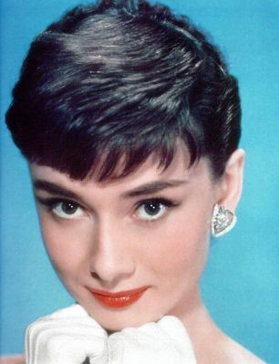 audrey hepburn, beauty, makeup, eyes, cat's eye, winged liner
