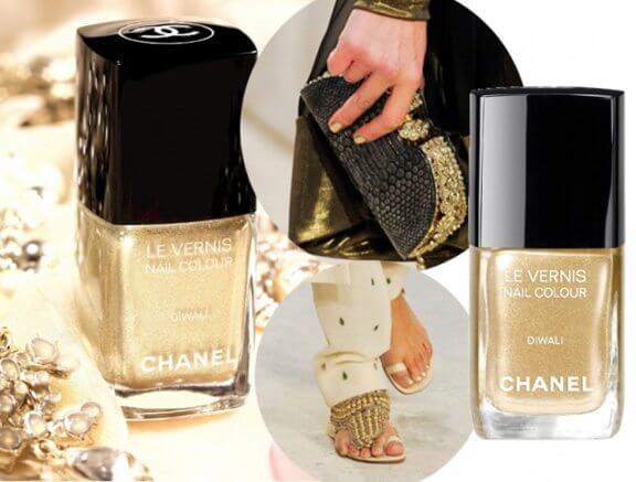 Chanel, Illusion d'Ombre Long-Wear Luminous Eyeshadow in Nirvana, India, Le Crayon Khôl in Black, Le Vernis Nail Colour in Diwali, makeup, Mascara Inimitable Intense in Black, Paris-Bombay, Route des Indes de Chanel, Stylo Yeux Waterproof Long-Lasting Eyeliner in Ebene