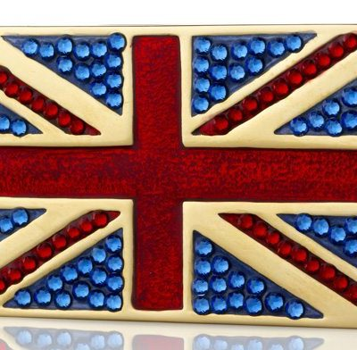 Estee Lauder's Jewelled Flag of Britain