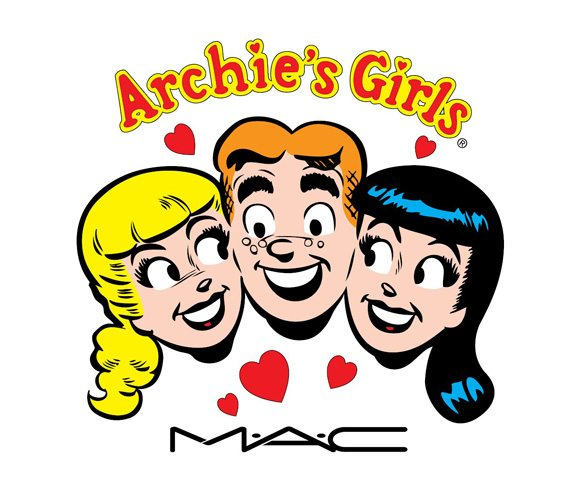 MAC, Archie, Betty, Veronica, Archies Girls, Archie's Girls, comic, cosmetics, makeup, beauty