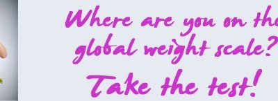 Where are you on the Global Weight Index? Take this online test