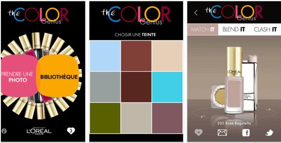 app, iPhone, iPhone 5, iPad, iPhone beauty app, iPad beauty app, beauty app