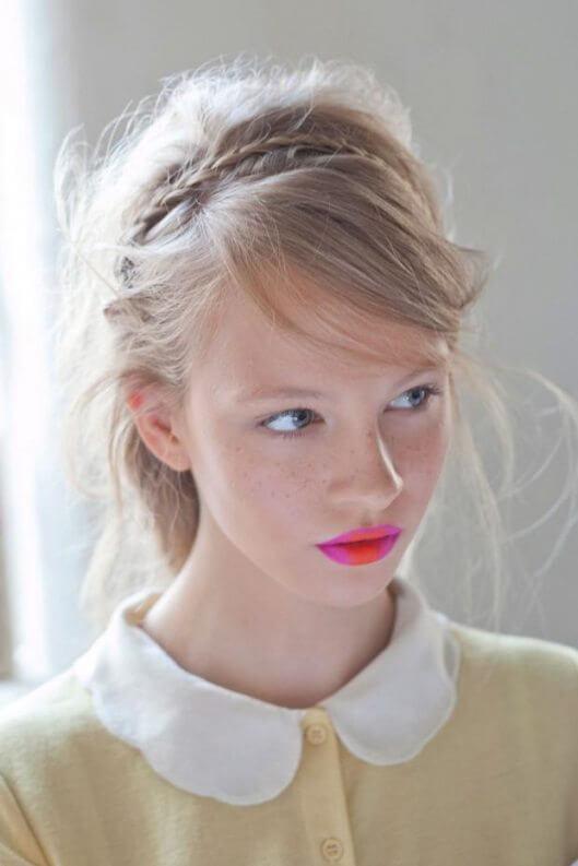 two tone lips, two tone lipstick, ombre lip, two colour lip, Holly Fulton