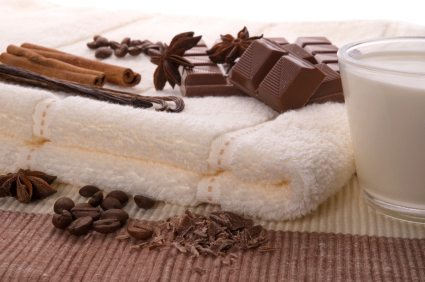 chocolate, beauty, spa, chocolate beauty recipe, chocolate spa recipe, cocoa, skincare, chocolate bath