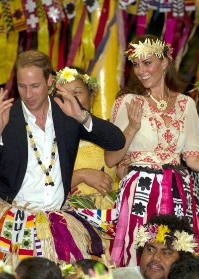 WATCH: Prince William finds his (very awkward) dancing feet!