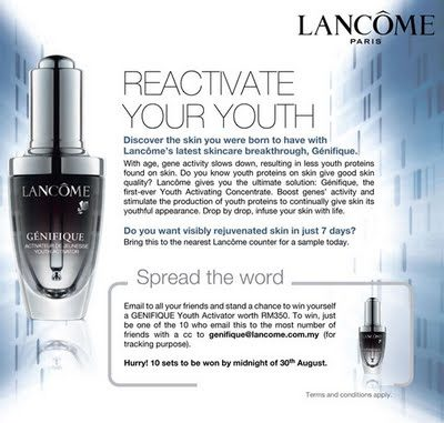FDA yells at Lancôme for making creams sound like magic drugs