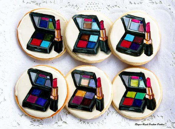 Let them eat (makeup and perfume inspired) cake. Or cookies. Or both.