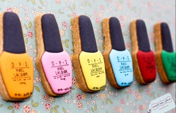 OPI nail polish cookies