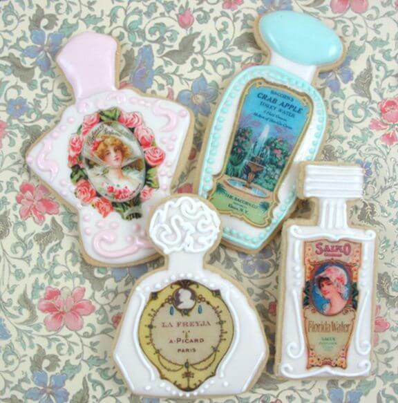 perfume cookies