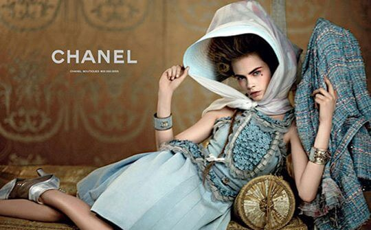 chanel, chanel resort 2013, advertisement, ad, campaign, cara, versailles, marie antoinette