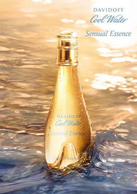 davidoff, cool water, cool water sensual essence, cool water gold, sensual essence