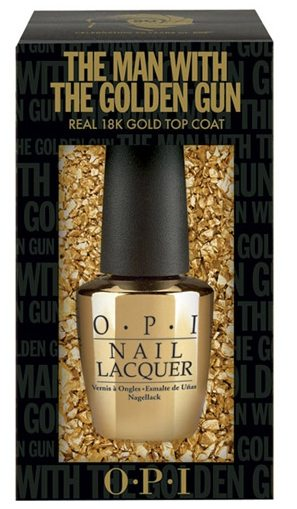 Skyfall James Bond Collection, GoldenEye, Golden Eye, OPI, nail polish, nailpolish, Skyfall, On Her Majesty's Secret Service, Man with the golden gun, swatch, review