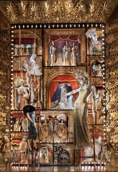 First Look: Bergdorf Goodman's Holiday Windows 2012