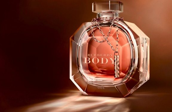 burberry, burberry body, burberry body crystal, baccarat, rosie huntington whitely, burberry body limited edition