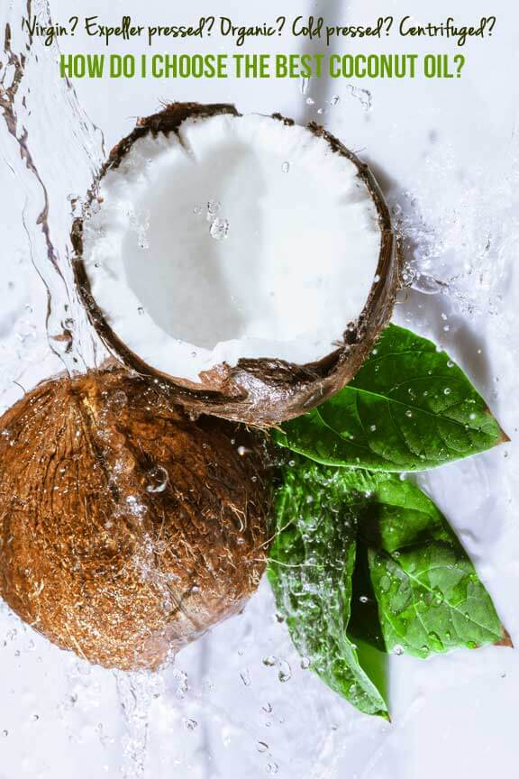 choose coconut oil