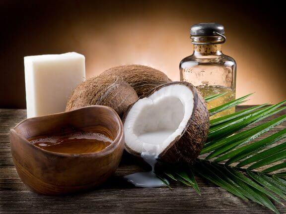Image result for massage coconut oil