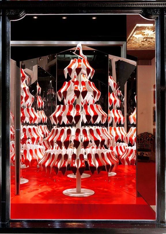 The Christian Louboutin Christmas Tree