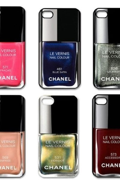 Accessory Thursday: Chanel Nail Polish iPhone Cases