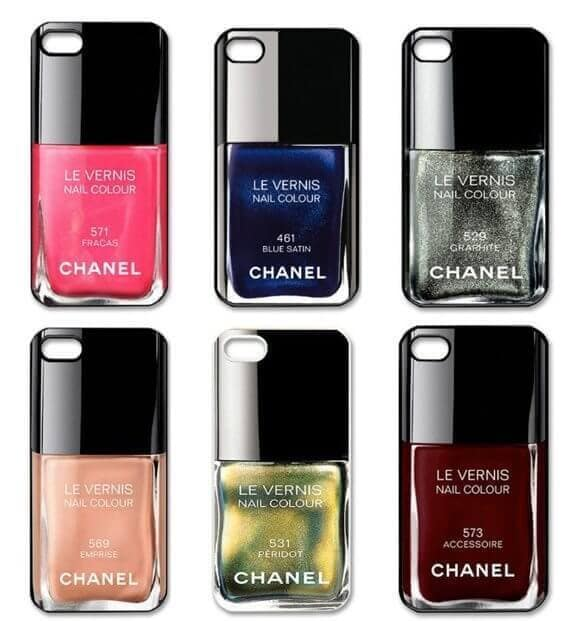 Accessory Thursday: Chanel Nail Polish iPhone Cases - The ...