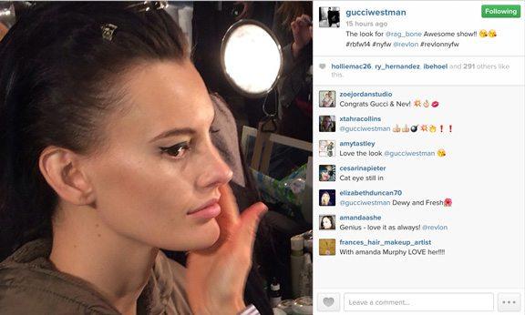 fashion week makeup tricks
