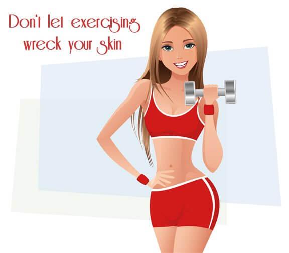 gym skincare