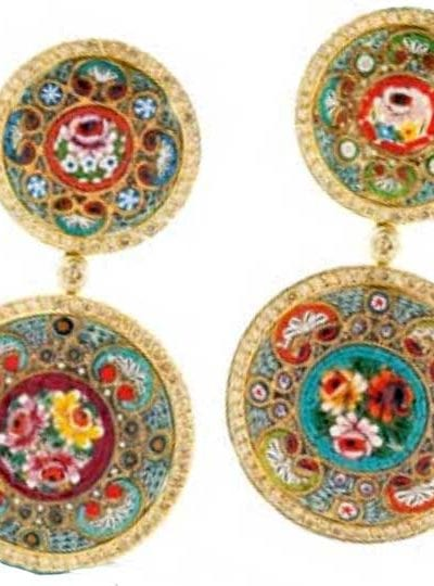 Accessory Thursday: Nourbel & Le Cavelier's micro-mosaic jewellery