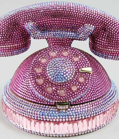 Accessory Thursday: Judith Leiber's Ringaling Rotary Phone Minaudiere