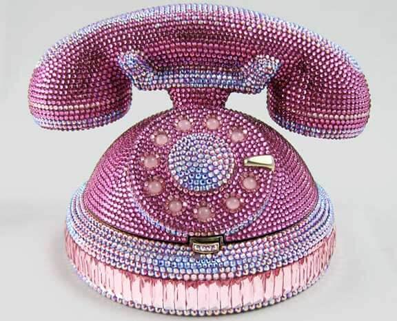 Accessory Thursday: Judith Leiber's Ringaling Rotary Phone Minaudiere