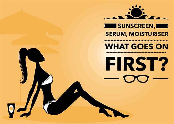 sunscreen layering