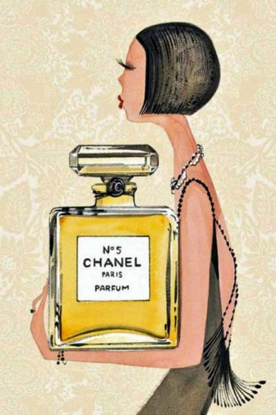Pretty prints: Chanel No. 5 (all under $50!)