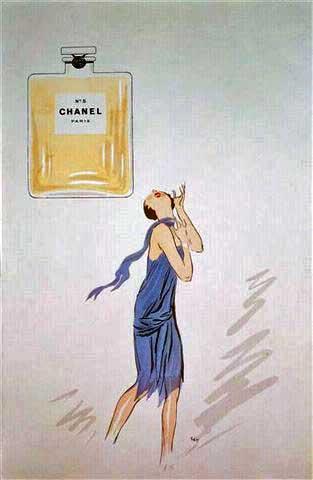 1921 illustration by Georges Goursat Sem