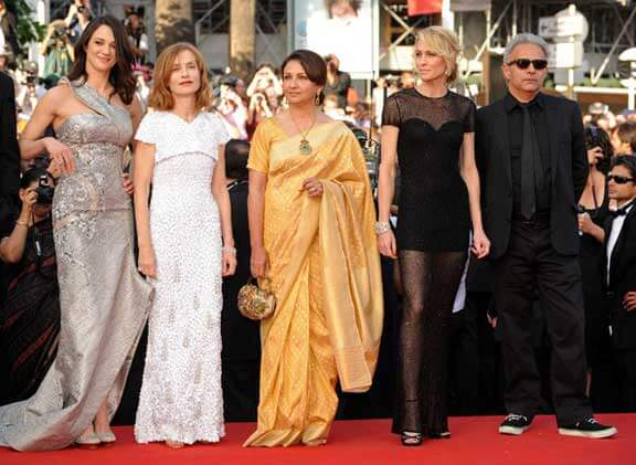 Sharmila Tagore at the Cannes Film Festival 2009
