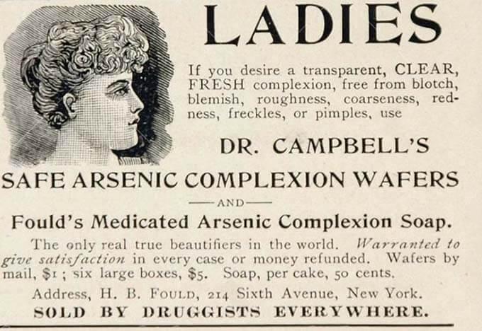arsenic skincare