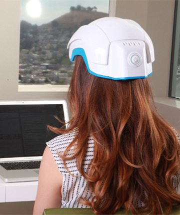 laser hair helmet