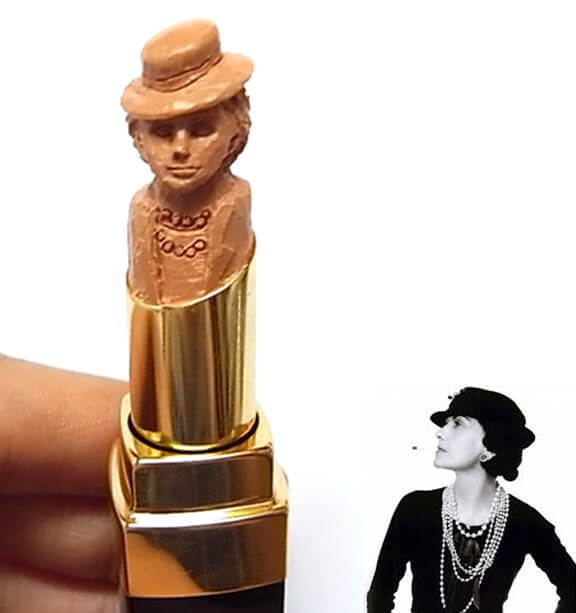 lipstick carving chanel