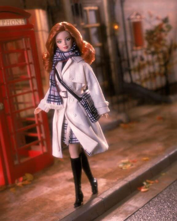 Barbie wears Dior. And Burberry. And More. (You'll want to see this even if you can't stand Barbie!)