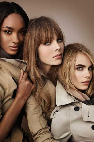Gucci is taking over our makeup. And Burberry's doing skincare. Talk about a couture complexion!