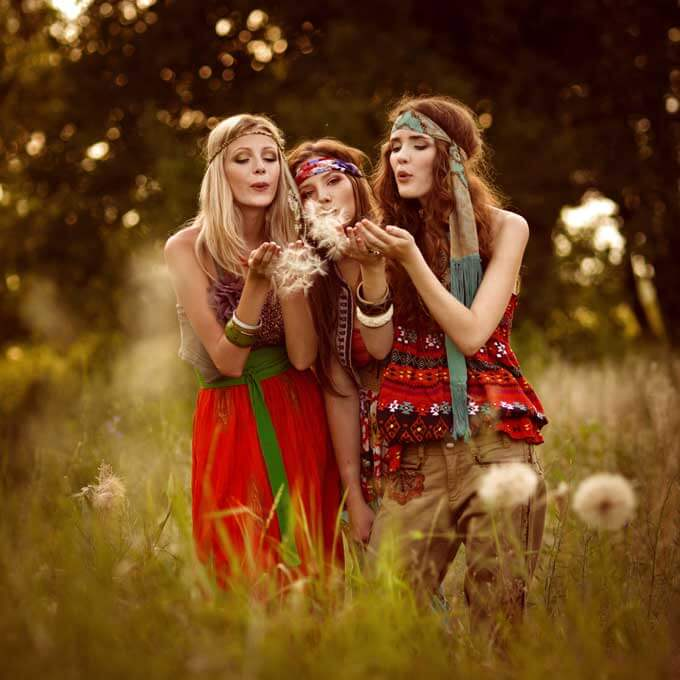 Gypsy makeup halloween 3