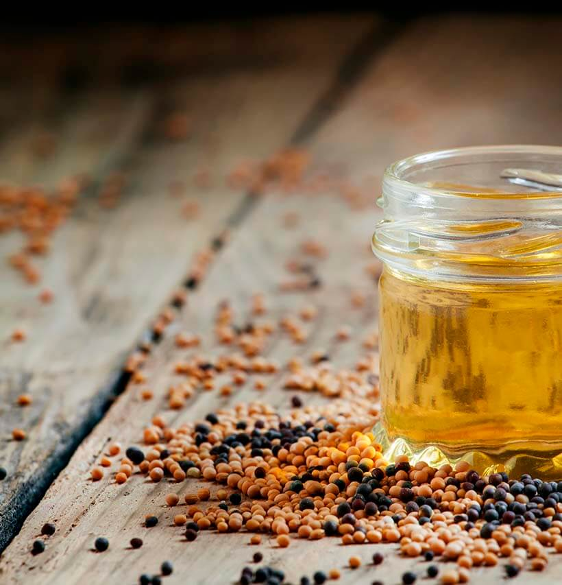 Acne? Dry lips? Hair loss? Mustard oil tackles all these ...