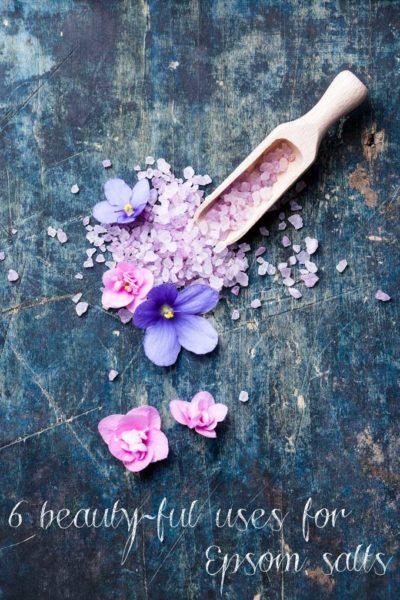 Beauty DIY: 6 beauty-ful uses for Epsom salts (no bathtub necessary!)