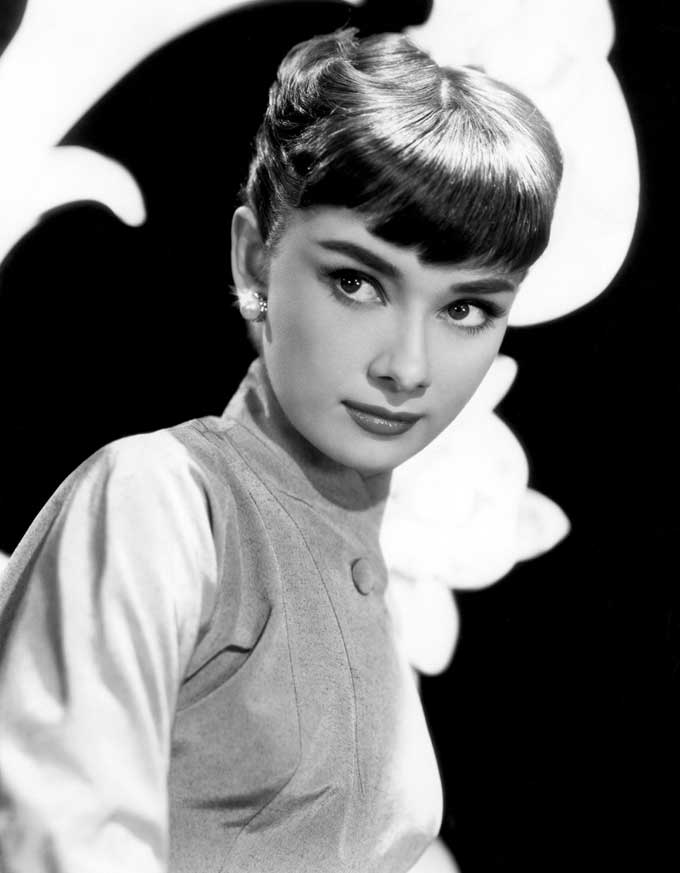 Audrey Hepburn: The 'brow original