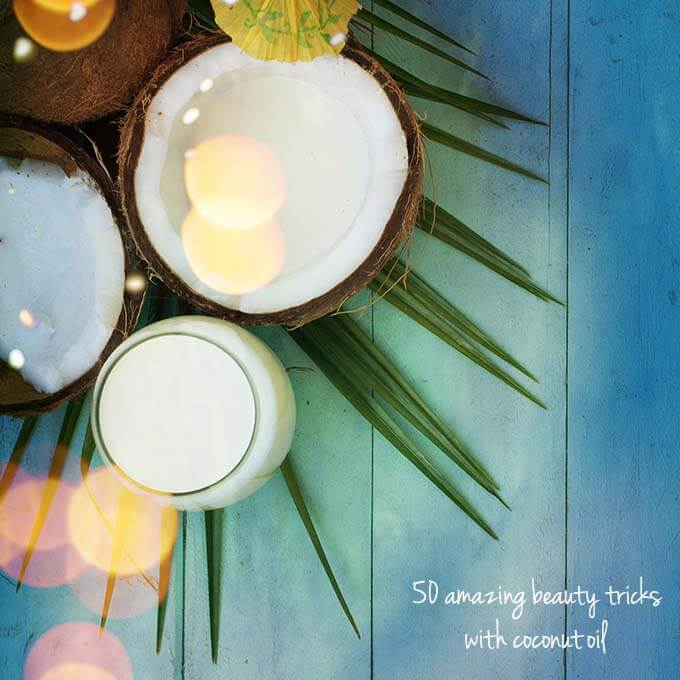 coconut oil beauty 5