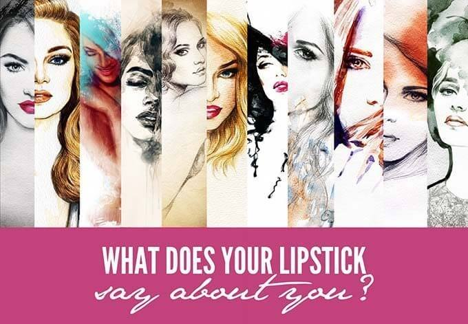 what does your lipstick color say about you