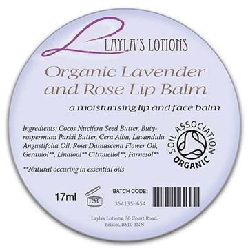 organic beauty label