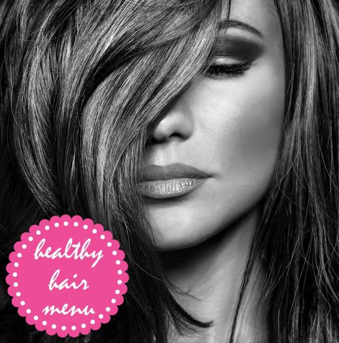 healthy hair menu