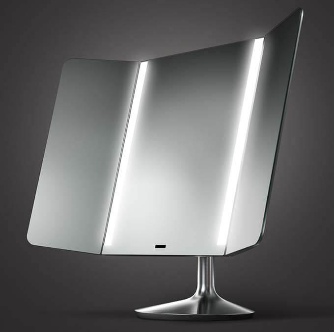 simple human wide mirror