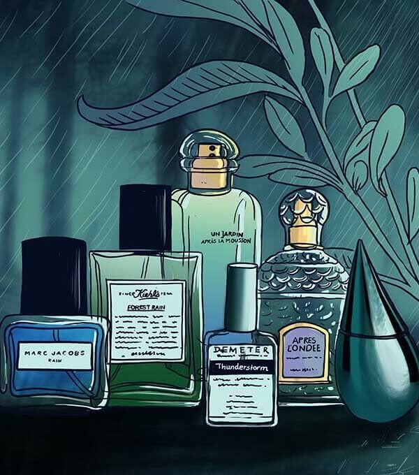 Perfumes that bring home the rains… forever!