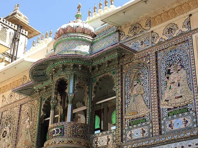 The beauty lies in the details... often made up of millions of glass mosaics